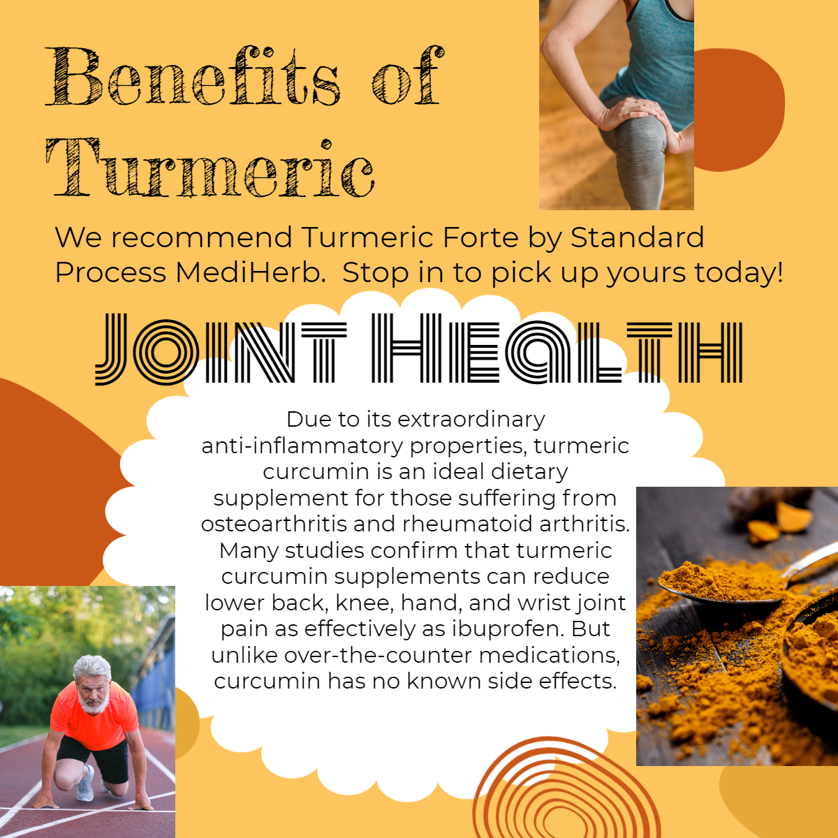 Turmeric for joint health